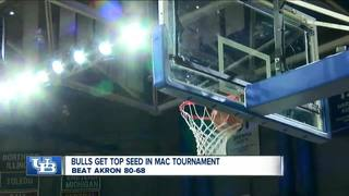 UB clinches #1 seed in MAC Tournament, beat...
