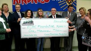 Grand Island schools donate to ECMC project