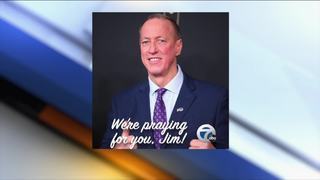 Thoughts and prayers pour in for Jim Kelly