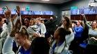 UB Women celebrate historic win