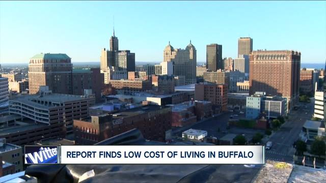 buffalo has lowest cost of living in upstate new york
