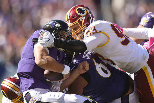 Former Redskins DE Trent Murphy to sign 3-year deal with Bills