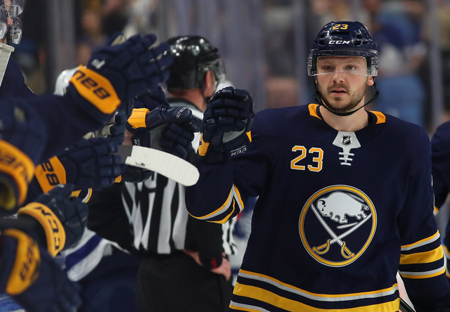 Sabres' Reinhart agrees to two-year deal