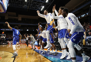 UB makes a statement in first big dance win
