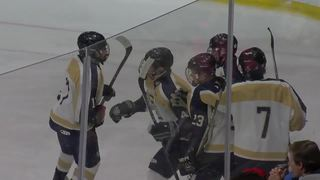 Sweet Home's Tyler Edholm scores hat trick in...