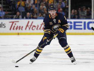Jack Eichel to wear No. 9 during 2018-19 season