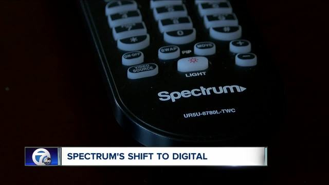 spectrum switching to digital only  how much will it cost you