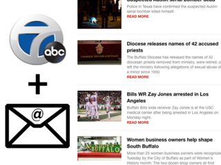 Sign up for WKBW Newsletters