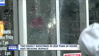 Two young lives lost in separate shootings