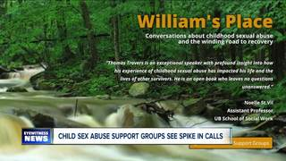 Sex abuse support group sees uptick in calls