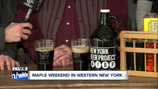 NYS Maple weekend takes over Erie County