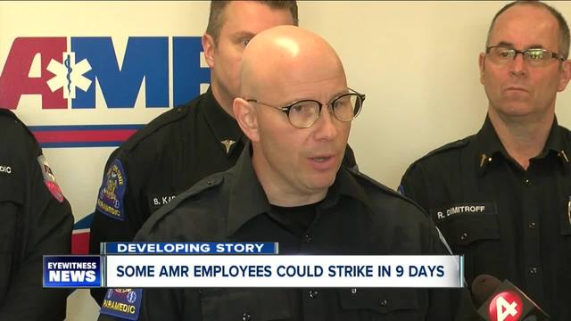 AMR has a plan in case union employees strike