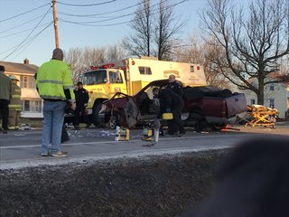Man critically injured in early morning crash
