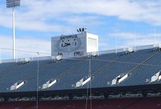 Bills sue company behind huge stadium clocks