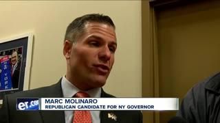 Molinaro in Buffalo to promote gubernatorial run