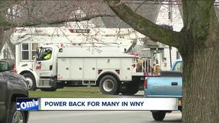 NYSEG continues to restore power to customers