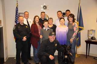 New K9 Officer named after late Chief Harmon