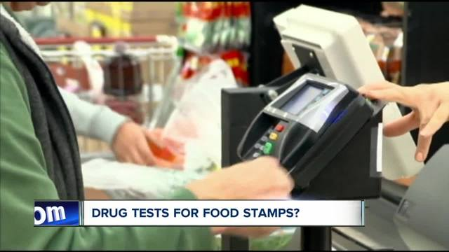 Plan would allow drug testing for food stamp recipients