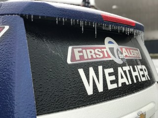 Ice storm exits WNY: the latest