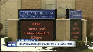 Calls for school districts to consider merging