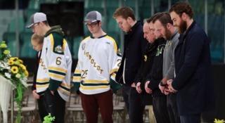 O'Reilly visits survivors of Humboldt bus crash