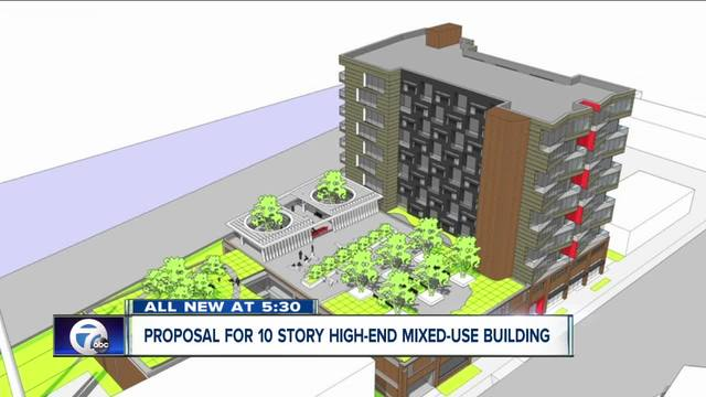 proposal for 10 story high
