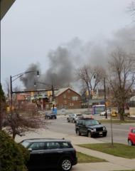 Man blows up home, apparent suicide attempt