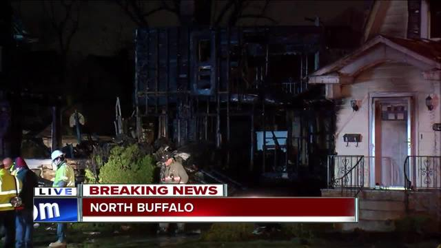man blows up north buffalo home in apparent suicide