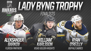 Sabres' Ryan O'Reilly named Lady Byng finalist