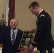 WWII vet gets medals, diploma for 100th birthday