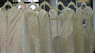 Brides can design their dream wedding dress