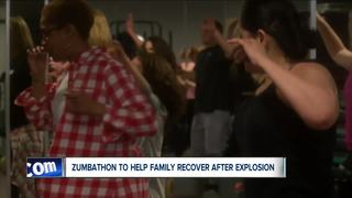 Zumbathon to help family rebuild after explosion