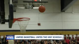 Unified basketball unites two WNY high schools