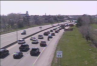 Delays on inbound Route 33 due to construction