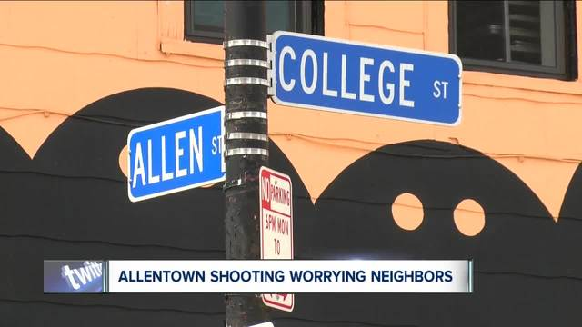 buffalo police announce arrest in allentown shooting