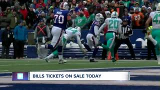 Individual Bills tickets now for sale to public