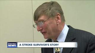 Stroke survivors shares his story