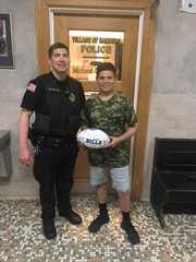 Family finds lost autographed football