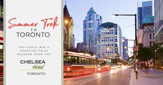 Summer Trek to Toronto Sweepstakes