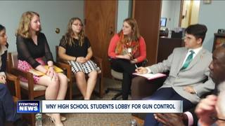 WNY students lobby for gun control