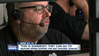 WNY Police Helpline: officers support officers