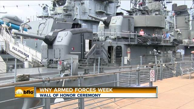 WNY Armed Forces Week Wall of Honor Ceremony