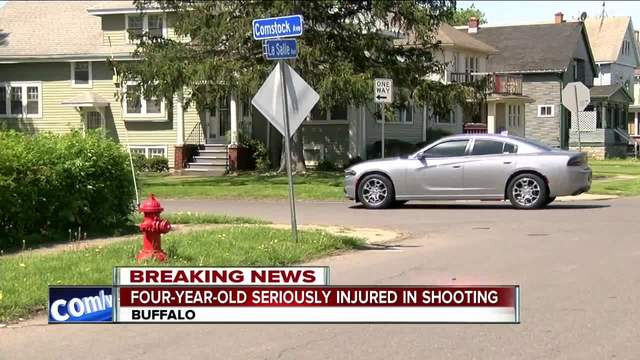Shooting seriously injures four year-old girl