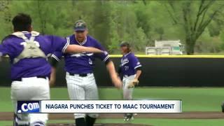 Niagara earns spot in MAAC baseball Tournament