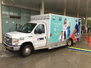 Ambulance designed to transport premature babies
