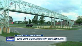 Town board approves pedestrian bridge demolition