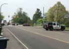 Motorcycle crash near Botanical Gardens