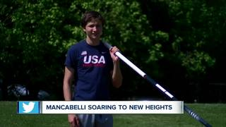Kegan Mancabelli soaring to new heights in O.P.