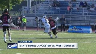 Lancaster & WSE boys lacrosse fall in semifinals