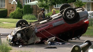 Serious rollover crash on east side investigated